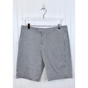 Banana Republic • NWT Gray Stripe Shorts • 10 [P2]